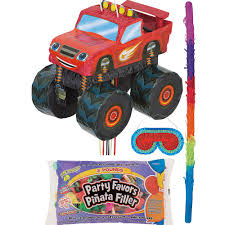 99 Monster Truck Party Favors Blaze And The Machines Pinata Kit With Candy