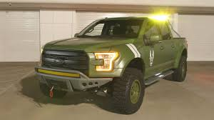 100 Nations Truck Ford F150 Halo Sandcat Is A OneOff Edition Inspired By Halos