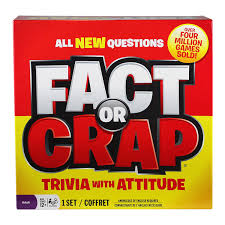 Amazon Fact Or Crap Board Game Toys Games