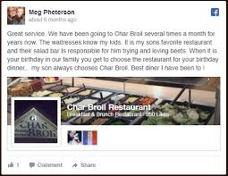 Char Broil Family Restaurant A Fine Diner Located At 2450 Monroe