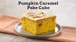Betty Crocker Pumpkin Slab Pie by Pumpkin Caramel Poke Cake Youtube