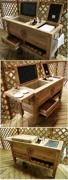 Cedar Patio Cooler Plans | Patio Outdoor Decoration Patio Cooler Stand Project 2 Patios Cabin And Lakes 11 Best Beverage Coolers For Summer 2017 Reviews Of Large Kruses Workshop Party Table With Built In Beerwine Ice How To Build A Wood Deck Fox Hollow Cottage Diy Your Backyard Wheelbarrow Foil Smoker Outdoor Decorations Beer Wooden Plans Home Decoration 25 Unique Cooler Ideas On Pinterest Diy Chest Man Cave Backyard Our Preppy Lounge Area Thoughtful Place