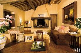 Tuscan Rustic Living Room Decorating Comfortable Ideas