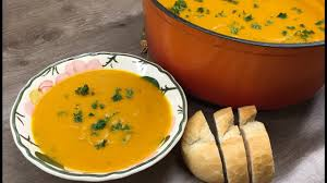 Pumpkin Soup Recipe Jamie Oliver by Roasted Pumpkin Soup Youtube