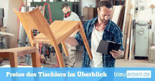 tischler preise kosten für möbel montage oder reparatur