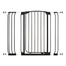Summer Infant Decor Extra Tall Gate Instructions by Dreambaby Chelsea Extra Tall Auto Close Metal 28