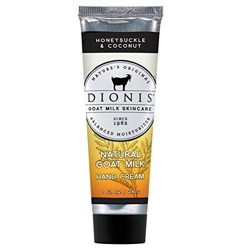 Dionis Honeysuckle & Coconut Goat Milk Hand Cream