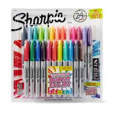 Sharpie Adult Coloring Book Markers Ultra Fine Point Permanent Marker Set Pack