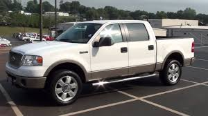 100 2006 Ford Truck FOR SALE FORD F150 LARIAT 1 OWNER LEATHER CAPT CHAIRS