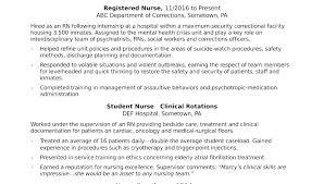 Canada Resume Template Examples Nursing Nurse New Graduate Practitioner Curriculum Vitae Sample Without Unusual