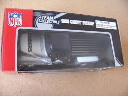 100 1955 Chevy Truck Parts Oakland Raiders NFL Pickup Pu Truck 124 Scale