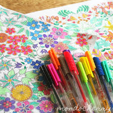 I Recently Bought A New Colouring Book Secret Garden By Johanna Basford After Fell In Love With The Intricate Drawings