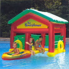Swim N Play BoatHouse Floating Habitat