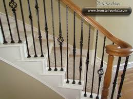 Wrought Iron Stair Spindles | Wrought Iron Balusters Stair Part ... Image Result For Spindle Stairs Spindle And Handrail Designs Stair Balusters 9 Lomonacos Iron Concepts Home Decor New Wrought Panels Stairs Has Many Types Of Remodelaholic Banister Renovation Using Existing Newel Stair Banister Redo With New Newel Post Spindles Tda Staircase Spindles Best Decorations Insight Best 25 Ideas On Pinterest How To Design Railings Httpwww Disnctive Interiors Dark Oak Sets Off The White Install Youtube The Is Painted Chris Loves Julia