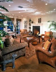 Tropical Decorating Ideas In Living Room With
