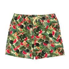 100 Coco Republic Sale Mens Leafy Board Shorts In Yellow
