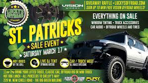 100 The Big Green Truck Annual St Patricks Sale Event With Offroad Vehicle Meetup