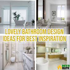 15 Lovely Bathroom Design Ideas For Best Inspiration Bathroom