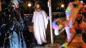 West Hollywood Halloween Carnaval 2017 by Kevin Short Towering Figure In West Hollywood Known As Weho Jesus