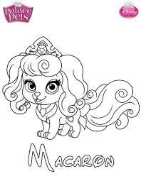 Pretty Design Ideas Princess Palace Pets Coloring Pages Kids
