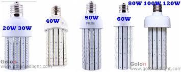 80w led corn light e40 e39 e27 e26 5 years warranty 400w metal