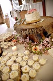 Rustic Wedding Cake Display Could Make This A Cupcake