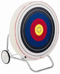Halloween Contact Lenses Target by Bear Archery Foam Target 36
