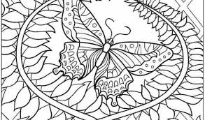 Adult Coloring Pages Butterfly Free