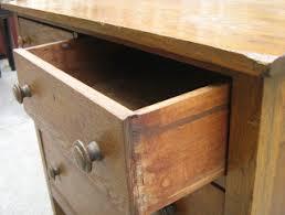 Tiger Oak Dresser Chest by Uhuru Furniture U0026 Collectibles Tiger Oak Dresser Sold