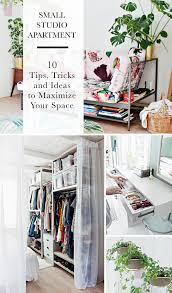 100 Tiny Apt Design SMALL STUDIO APARTMENT 10 Tips Tricks And Ideas To