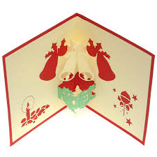 Boutique Collection Christmas Card Special Friends PopUp Card