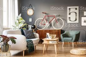 vintage wohnzimmer mit vibes stockfoto und mehr bilder behaglich
