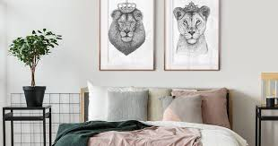 wandbilder fur dein schlafzimmer artboxone zhimu