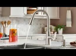 Moen Arbor Kitchen Faucet Canada by Edwyn Spot Resist Stainless One Handle High Arc Pulldown Kitchen