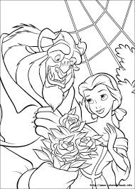 Possible Idea For A Beauty And The Beast Tattoo Find This Pin More On Disney Coloring Pages