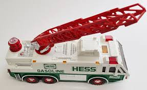 Amazon.com: 1996 HESS Emergency Ladder Fire Truck Toy Trucks: Toys ...