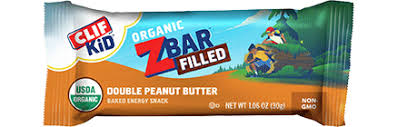 CLIF Kid Zbar Filled Double Peanut Butter