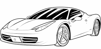 Cars Wheels Pose A Very Modern Form Coloring Pages Movie