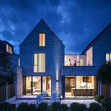 100 Contemporary Brick Architecture GA Studio On Twitter 4 Contemporary Mews Houses Newbuildhouses