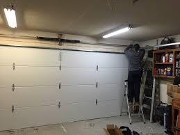 door garage garage door sensor garage door closes unevenly