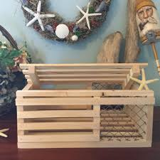 Mini Decorative Lobster Trap by Chip Howarth Woodworking Home Facebook