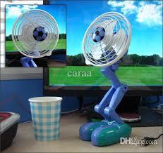 Oscillating Usb Desk Fan by 2017 Wholesale Computer Usb Small Fan Robot Oscillating Fan Mini