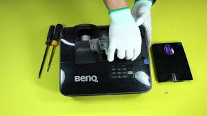 how to replace the projector l for benq ms500