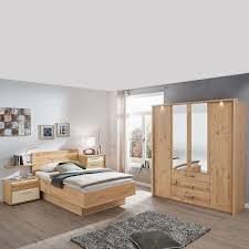 disselk cadiz schlafzimmer bett nachtkonsole drehtürenkleiderschrank balkeneiche echtholz furniert mit schubkastenkommode