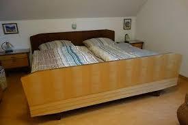 musterring schlafzimmer 50er jahre birke hochglanz poliert