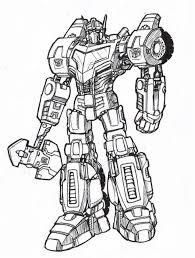 20 Free Printable Optimus Prime Coloring Page