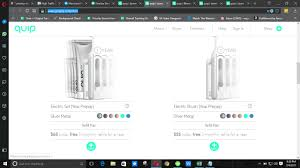 Quip Coupon Code Quip Toothbrushes For The Whole Family Rach Parcell Lifeway Coupon April 2019 Argos Promo Code Ireland Coupon Gap Toothbrush Farm Image Library Coding Caring Company How To Quip Aqua Coupons Matadoru Refill Pack Review Hello Subscription Smiggle Uk Daan Online Discount Electric Couples Set Use Airtel Money Rachael Ray Magazine Hide Me Bear Mountain Spa