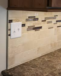 kitchen backsplashes best travertine tile kitchen backsplash