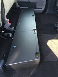 Locking Under Seat Storage 2015-2017 F150/ 2017 Raptor Super Cab ... Truck Under Seat Storage Diy Youtube Bestop Locking Under Seat Storage Box In Textured Black For 0710 2012 Gmc Sierra 1500 Bed Autopartswaycom Esp Accsories Labor Day Sale Tundratalknet Toyota Fathers Ttora Forum Lvadosierracom How To Build A Box Duha 20071 Underseat Gun Case F150 Supercab 092014 Safe And Safes Bunker Storagegun Safe Ford Community Of Tool Boxs B High Capacity Contractor Single Boxes At Logic 11 Yamaha Rhino Forumsnet