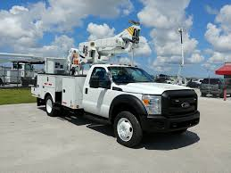 100 2012 Trucks Ford F550 Altec AT40MH 45ft Bucket Truck C82590